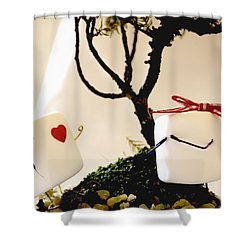 Sweet Surprise Shower Curtain
