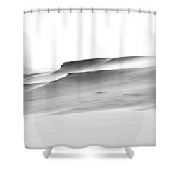 Swiftly Moving Dunes Shower Curtain by Adria Trail