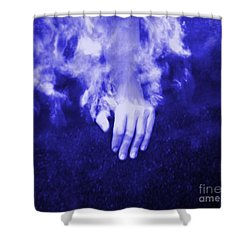 Swimming Laps Shower Curtain