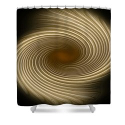 Shower Curtain featuring the photograph Swirling Abstract Design by Charles Beeler