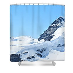 Swiss Alps Shower Curtain by Joe  Ng