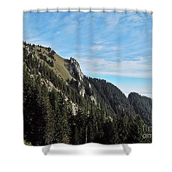 Swiss Sights Shower Curtain