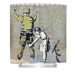 Switch Roles Shower Curtain