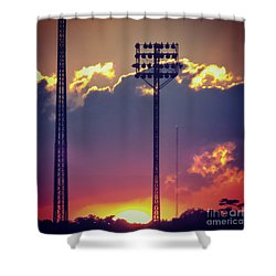 Switching Shifts Shower Curtain