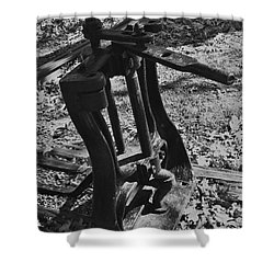 Shower Curtain featuring the photograph Switching Tracks by Sara  Raber