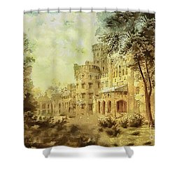 Sybillas Palace Shower Curtain