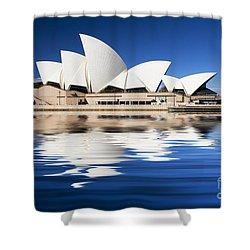 Sydney Icon Shower Curtain by Avalon Fine Art Photography