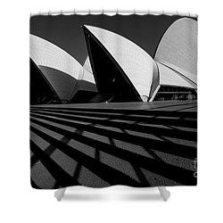 Shower Curtain featuring the photograph Sydney Opera House 02 by Yew Kwang