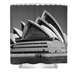 Sydney Opera House Shower Curtain by Venetia Featherstone-Witty