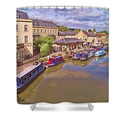 Sydney Wharf Bath Shower Curtain