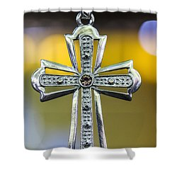 Symbol Of Faith Shower Curtain