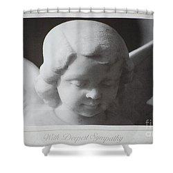 Sympathy      Angel Shower Curtain