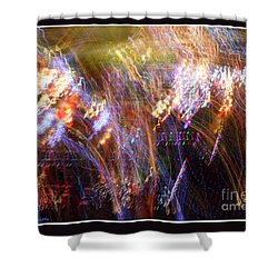 Symphonic Light Abstraction  Shower Curtain by Chris Anderson