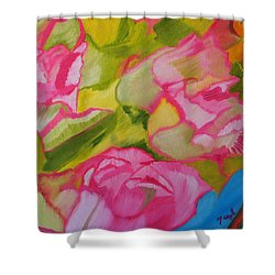 Symphony Of Roses Shower Curtain