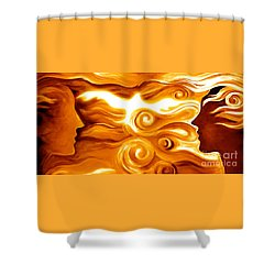 Synergy In Love Shower Curtain