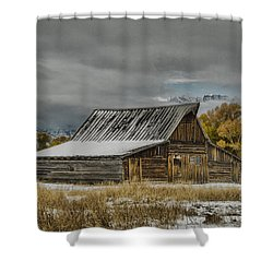 T. A. Moulton's Barn Shower Curtain