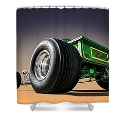 T Bucket Shower Curtain by Douglas Pittman