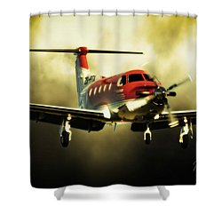 T Tale Shower Curtain