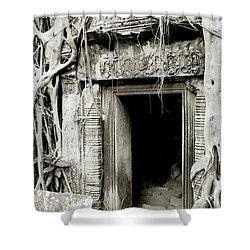 Ta Prohm Doorway Shower Curtain