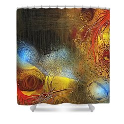 Tabernacle Shower Curtain by Francoise Dugourd-Caput