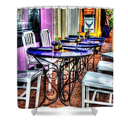 Table For Six Shower Curtain by Debbi Granruth