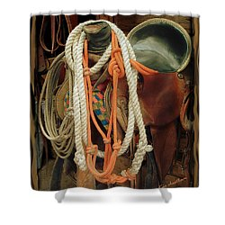 Tack Room Beauty Shower Curtain