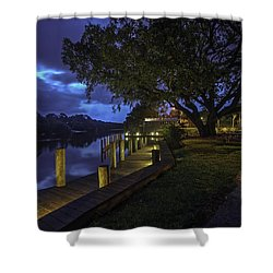 Tacky Jacks Before The Storm Shower Curtain by Michael Thomas