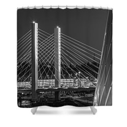 Tacoma Smelter Shower Curtain