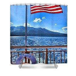 Tahoe Queen Lake Tahoe By Diana Sainz Shower Curtain