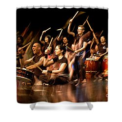 Taiko Flow Shower Curtain