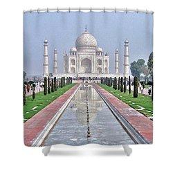 Taj Mahal Shower Curtain by Kim Bemis