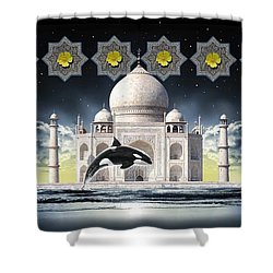 Taj Shower Curtain by Scott Ross