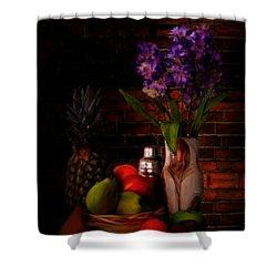 Take A Break Shower Curtain by Lourry Legarde