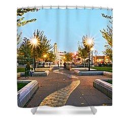 Take A Walk Downtown  Shower Curtain