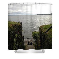 Take In The View Shower Curtain