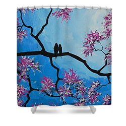 Take Me Away With You Shower Curtain