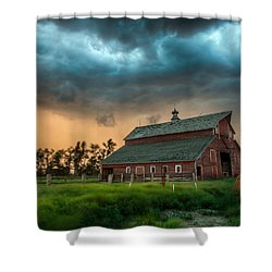 Take Shelter Shower Curtain