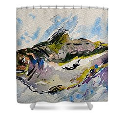 Take The Bait Shower Curtain by Beverley Harper Tinsley