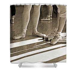 Shower Curtain featuring the photograph Taking A Break by Bill Howard