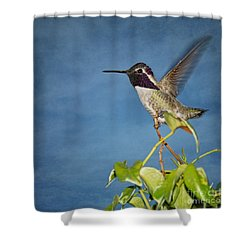 Shower Curtain featuring the photograph Taking Flight by Peggy Hughes