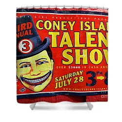 Talent Show Shower Curtain