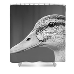Talk Like A Duck Shower Curtain