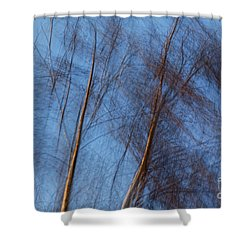 Talking Trees Shower Curtain