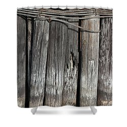 Tall Pilings 2 Shower Curtain