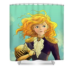 Tammy Wurtherington 1883 Color Portrait Shower Curtain
