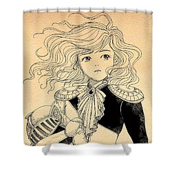 General Tammy Wurtherington Portrait Shower Curtain