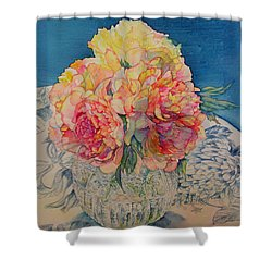 Tammy's Bowl 2 Shower Curtain