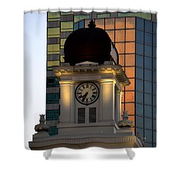 Tampa City Hall 1915 Shower Curtain by David Lee Thompson