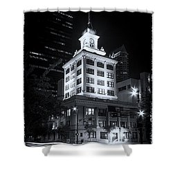 Tampa's Old City Hall Shower Curtain