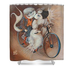 Tandem Shower Curtain